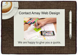 Amay Web Design quote form